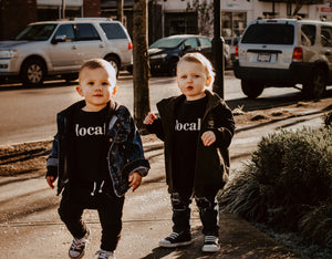 Local Unisex Kids Sweater (BLACK)