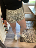Gloria Leopard Shorts