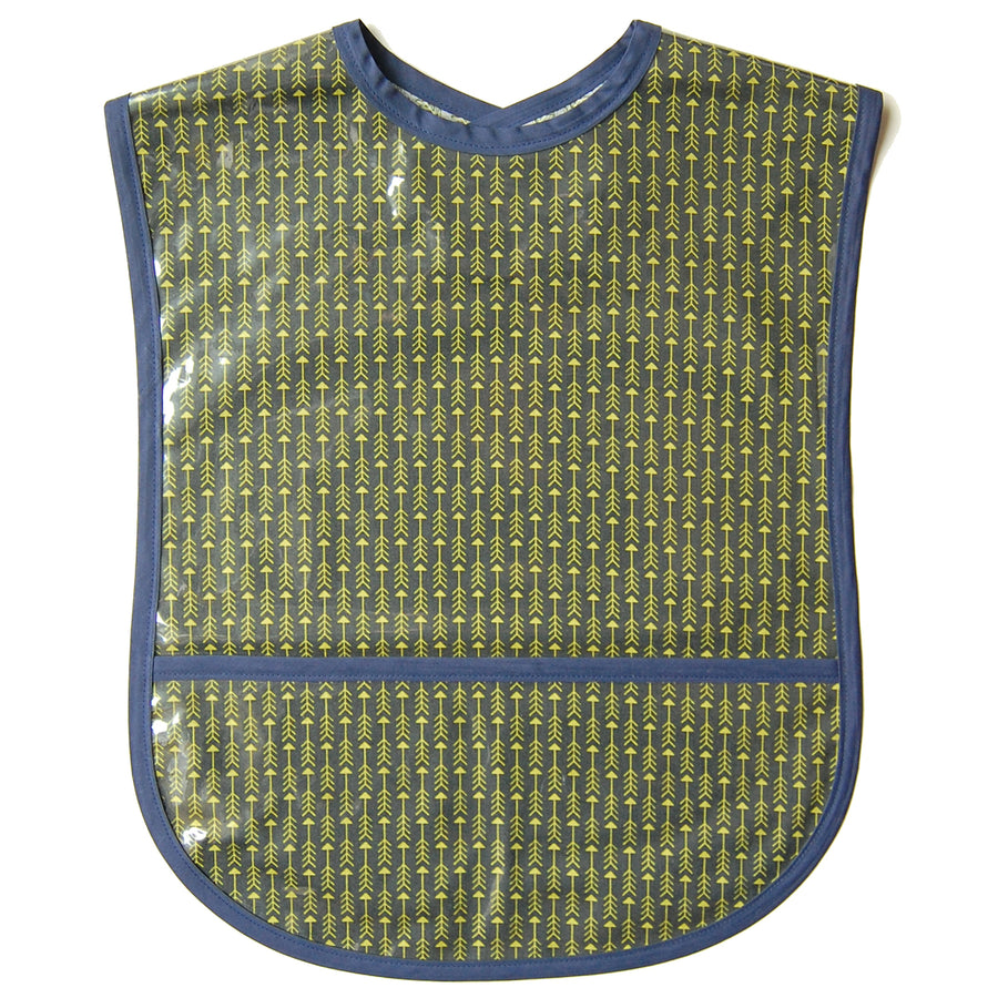 Wind Arrows Vinyl Adult Bib
