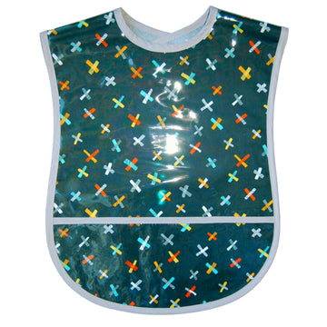 Grey Jacks Vinyl Adult Bib