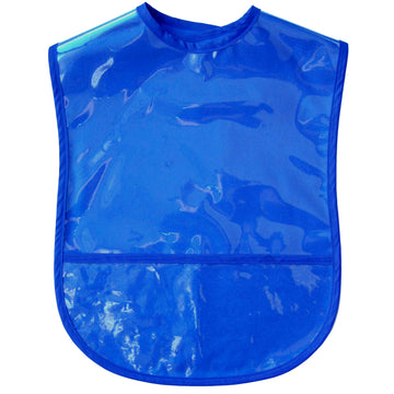 Solid Color Adult Vinyl Bib