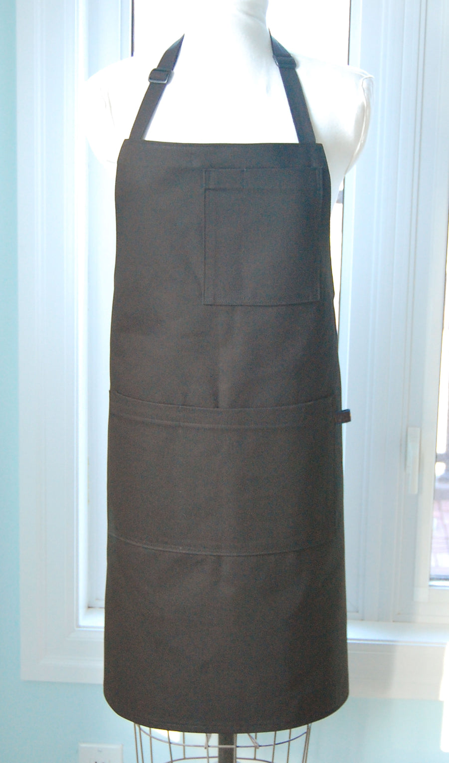 Black Denim Shop/Chef's Apron