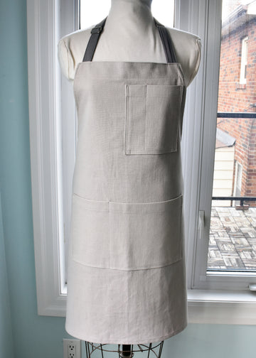 Light Gray Shop/Chef/Waiter's Apron