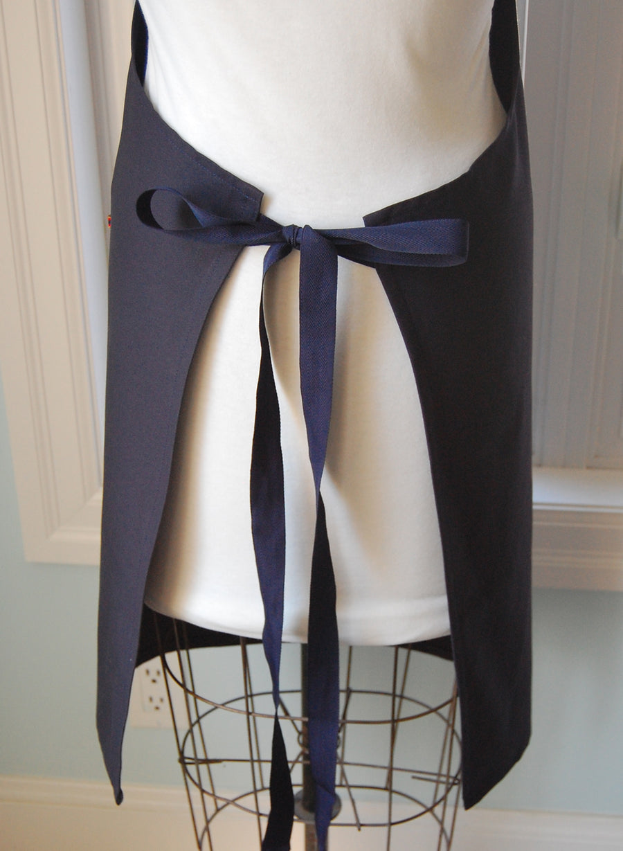 Navy Twill Shop/Chef's Apron