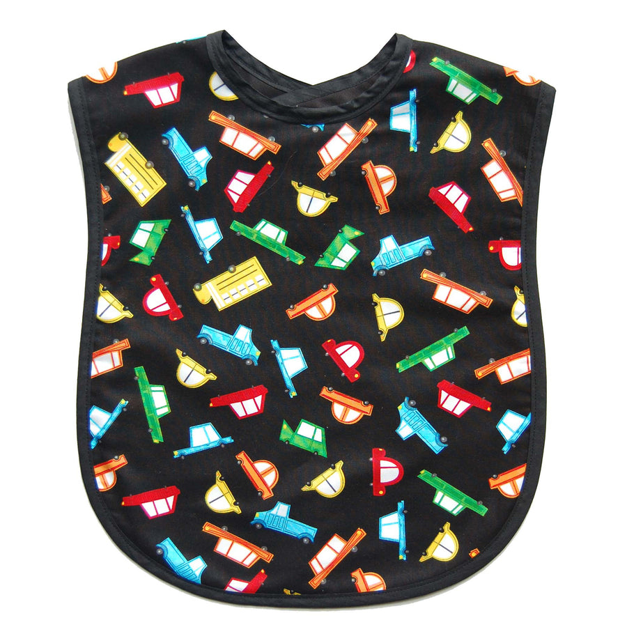 Cars to Go Reversible Adult Bib