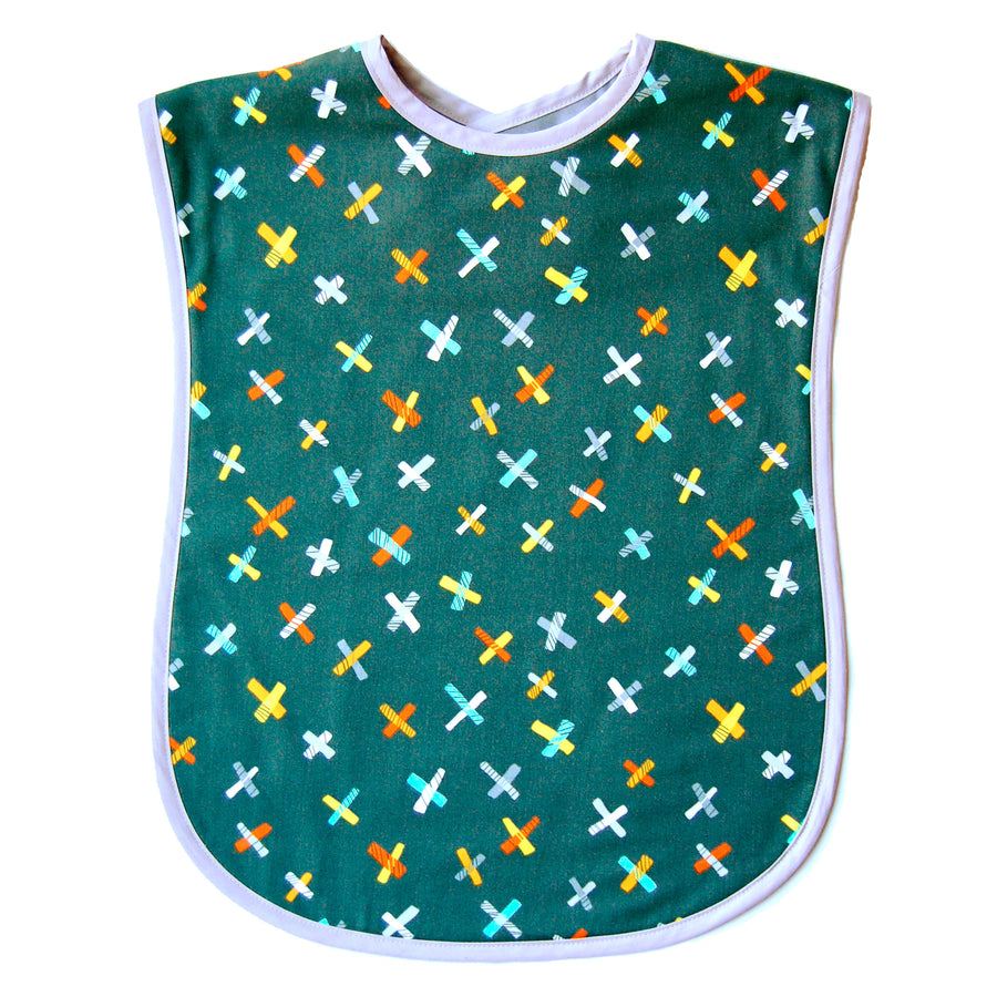 Grey Jacks Reversible Adult Bib