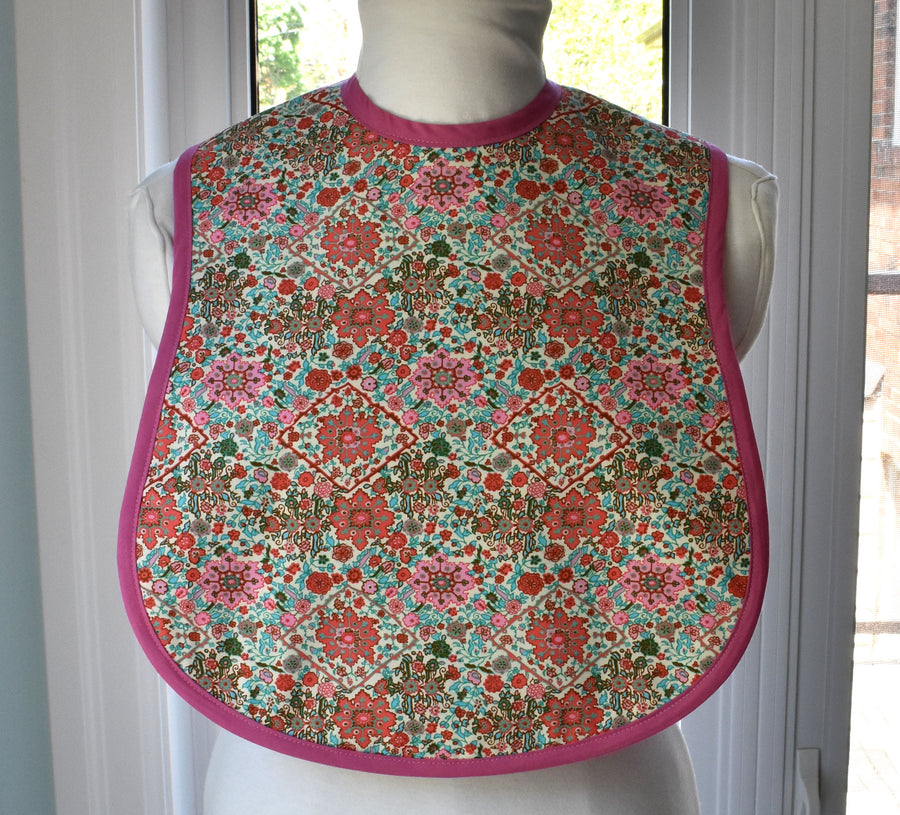 Kaleidoscope Reversible Adult Bib