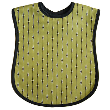 Green Rain Reversible Adult Bib
