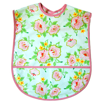 Church Flowers Extra Large Adult Bib