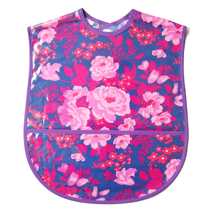 Rose Bouquet Extra Large Adult Bib