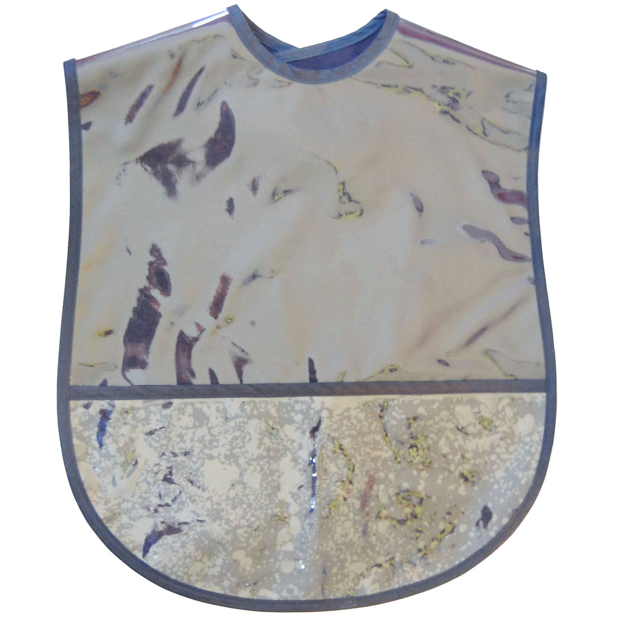 Solid Color Extra Large Adult Bib