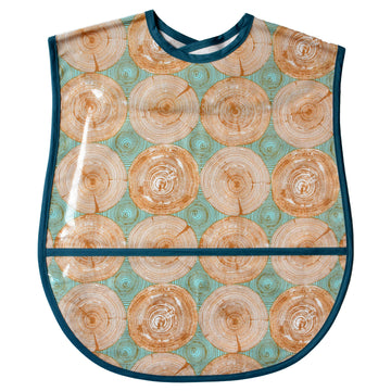 Tree Rings Extra Large Adult Bib