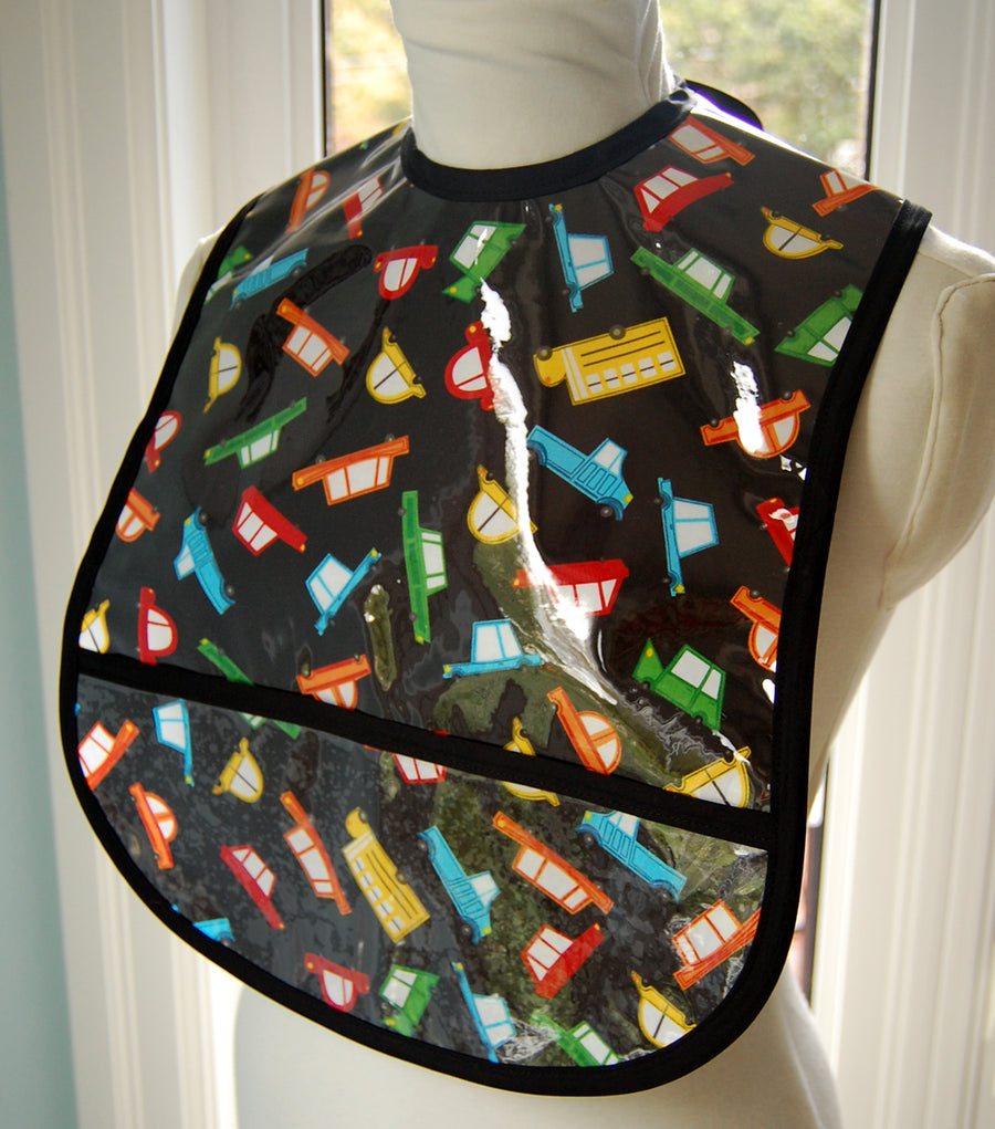 Cars to Go Small/Youth Adult Bib