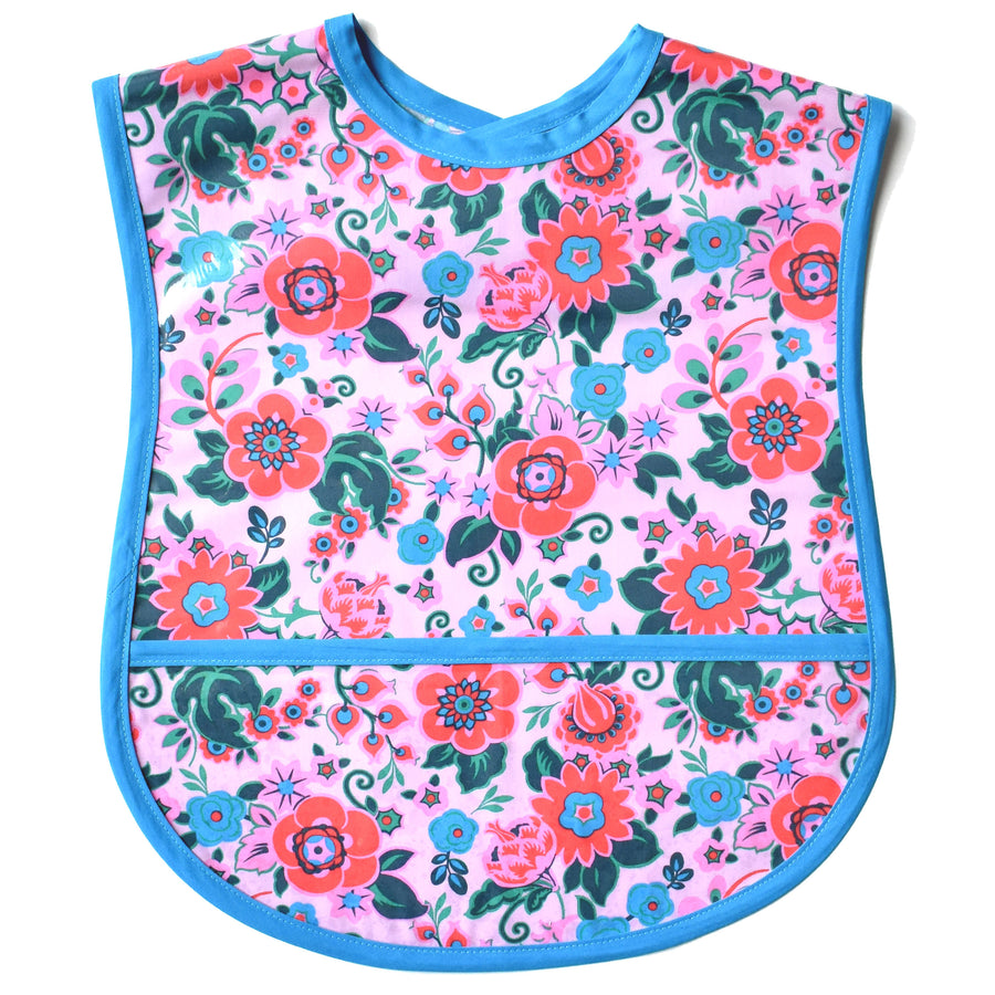 Pink Petals Small/Youth Adult Bib