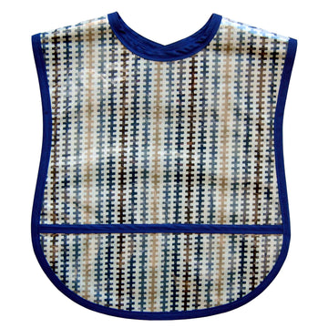Navy Tracks Small/Youth Adult Bib