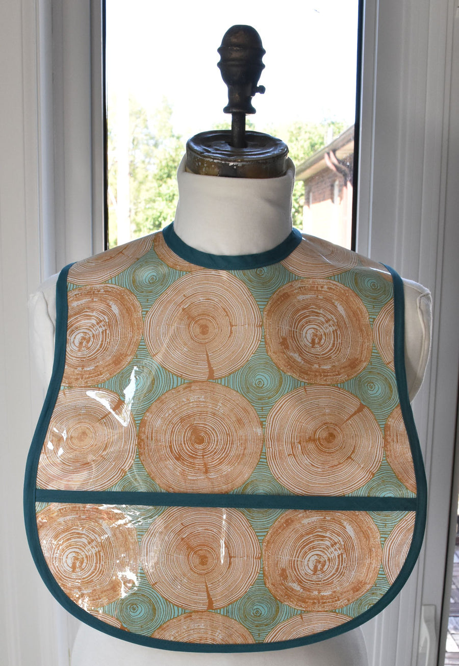Tree Rings Small/Youth Adult Bib