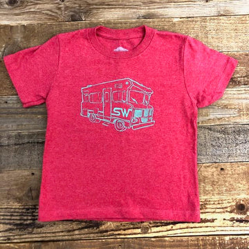 Surf Wyoming® Toddler WY.innie Tee - Red