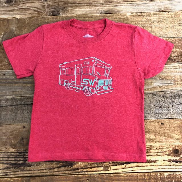 Surf Wyoming® Toddler WY.innie - Red