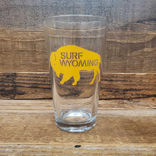 Surf Wyoming-Surf Wyoming® SKITTLES Bison Pin - YELLOWSTONE SUNRISE-YELLOWSTONE SUNRISE BISON PINT-