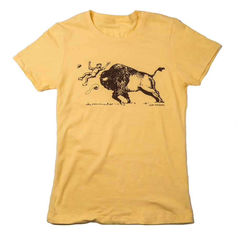 Women's Surf Wyoming® merica's Petting Zoo - Banana Yellow