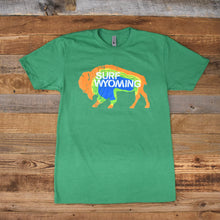 Load image into Gallery viewer, Men's Prismatic Bison Tee - Green