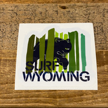 Load image into Gallery viewer, Surf Wyoming Bear Peak Sticker - Green
