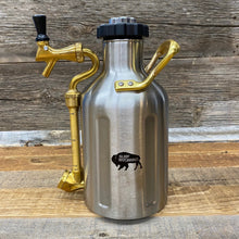 Load image into Gallery viewer, Surf Wyoming-uKeg 64oz Growler - Stainless-