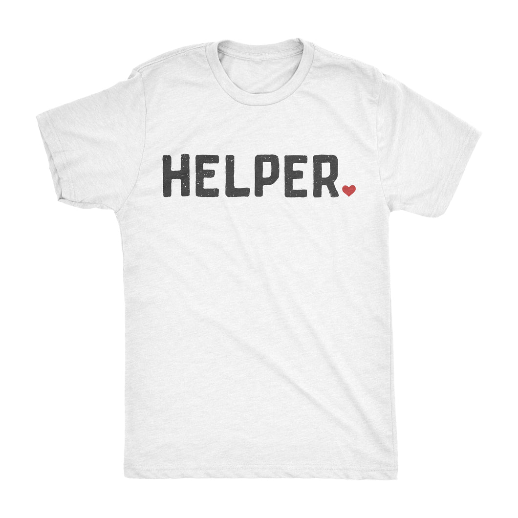 Surf Wyoming-HELPER TEE •• WHITE-