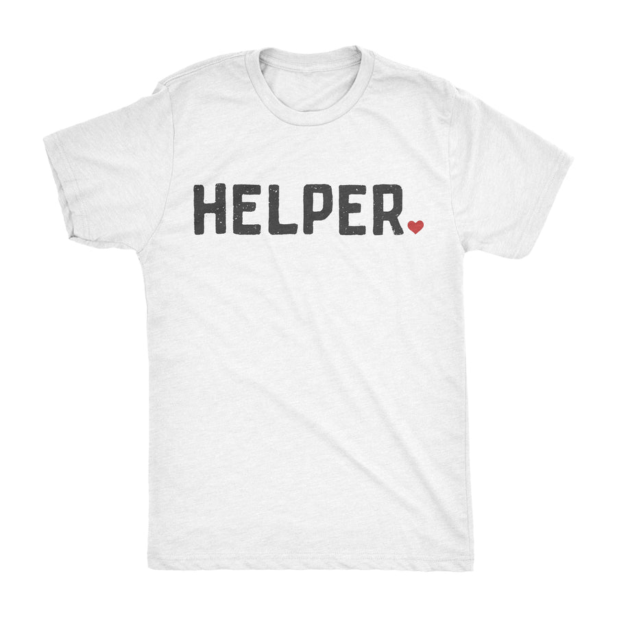 HELPER TEE  ||  WHITE