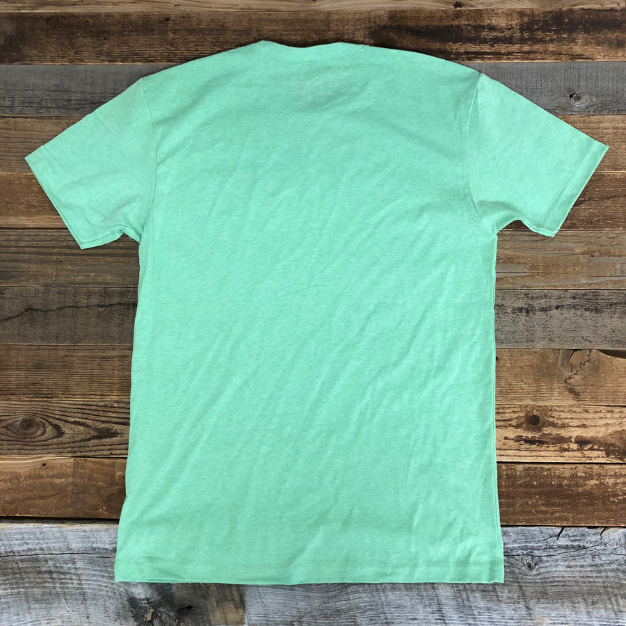 Men's SURF WYOMING®  Bison BRIDLED Tee - Mossy
