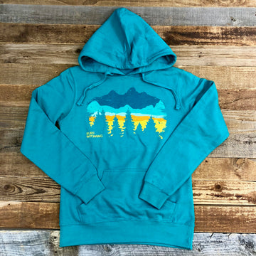 Women's Surf Wyoming® Timberline Horizon Hoodie - Aquamarine