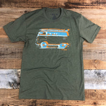 Load image into Gallery viewer, Surf Wyoming-Men's SURF WYOMING® Vanlife 2.0 - Military Green-