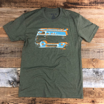 Men's SURF WYOMING® Vanlife 2.0 - Military Green