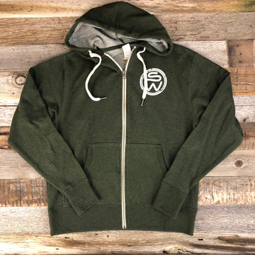 UNISEX Surf Wyoming® Timberline Hoodie- Green
