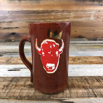 Surf Wyoming® King Bison Mug - Red
