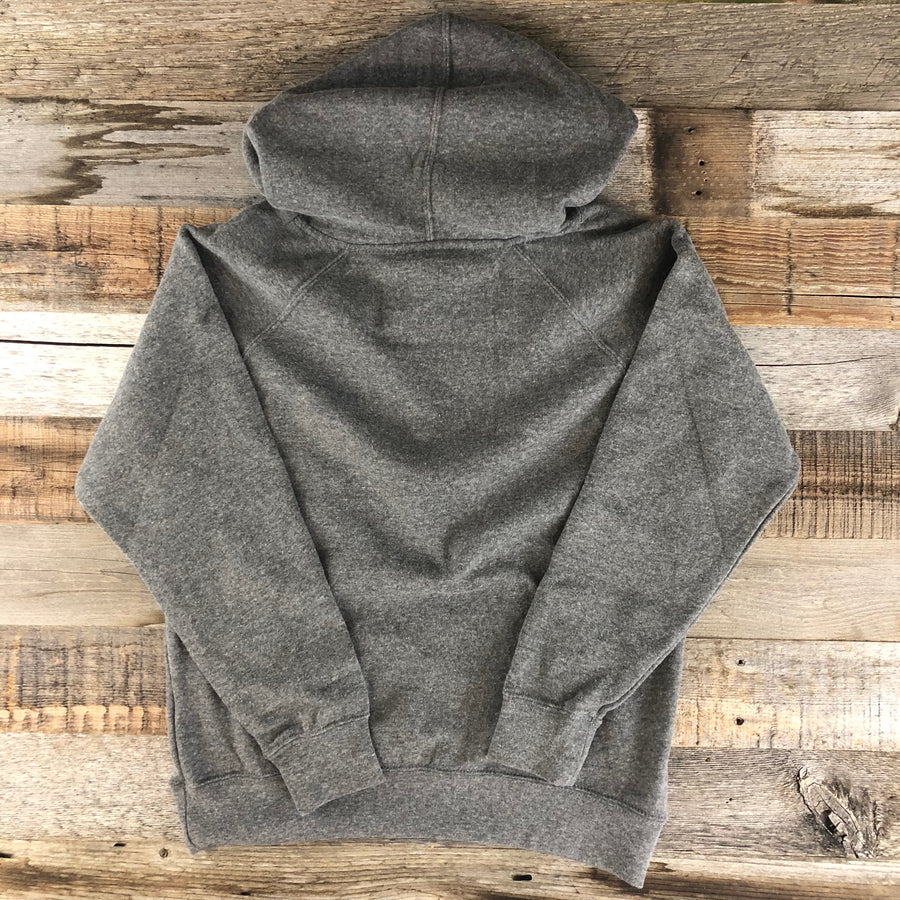 Surf Wyoming® Youth BISON QUIVER HOODIE- Heather Grey