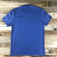 Load image into Gallery viewer, Men's SURF WYOMING® Foam State Tee - Royal Blue