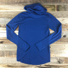 Load image into Gallery viewer, Unisex Bison Surf AR Hooded Thermal- Blue
