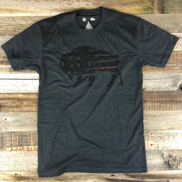 Men's SURF WYOMING® Quiver Tee - Blackout