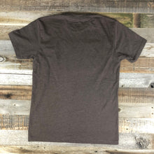 Load image into Gallery viewer, Men's SURF WYOMING®  Bison Flash Tee- Brown