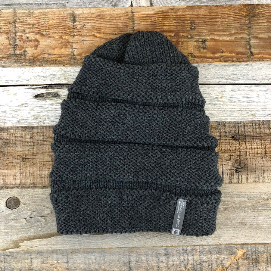 RIBBER BEANIE • TWO COLORS