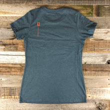 Load image into Gallery viewer, W's Circle Bennies Tee - Indigo