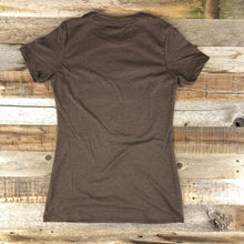 Load image into Gallery viewer, W's Bison Flash Tee - Brown