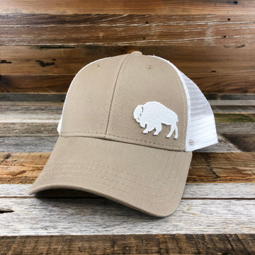 First Park Bison Trucker - Khaki