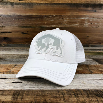 Flag Bison Trucker - THE WHITEOUT