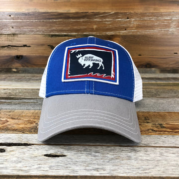 Foam State Trucker - Blue/Grey
