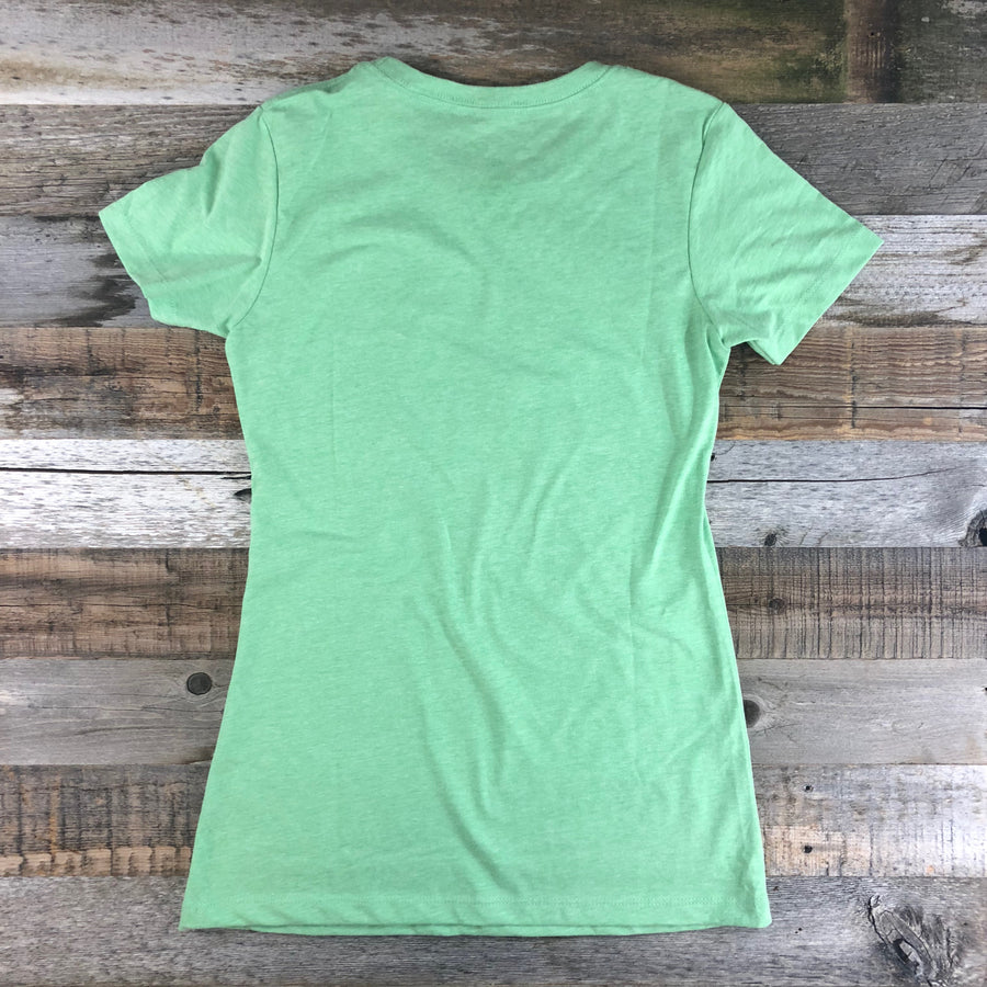 Women's Surf Wyoming® Ursa Major Tee- Spearmint