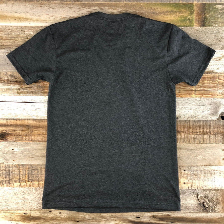 Men's YELLOWSTONE COLLECTION Old Faithful Tee - Charcoal