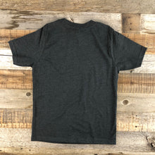 Load image into Gallery viewer, Youth YELLOWSTONE x SW COLLECTION Old Faithful Tee - Charcoal