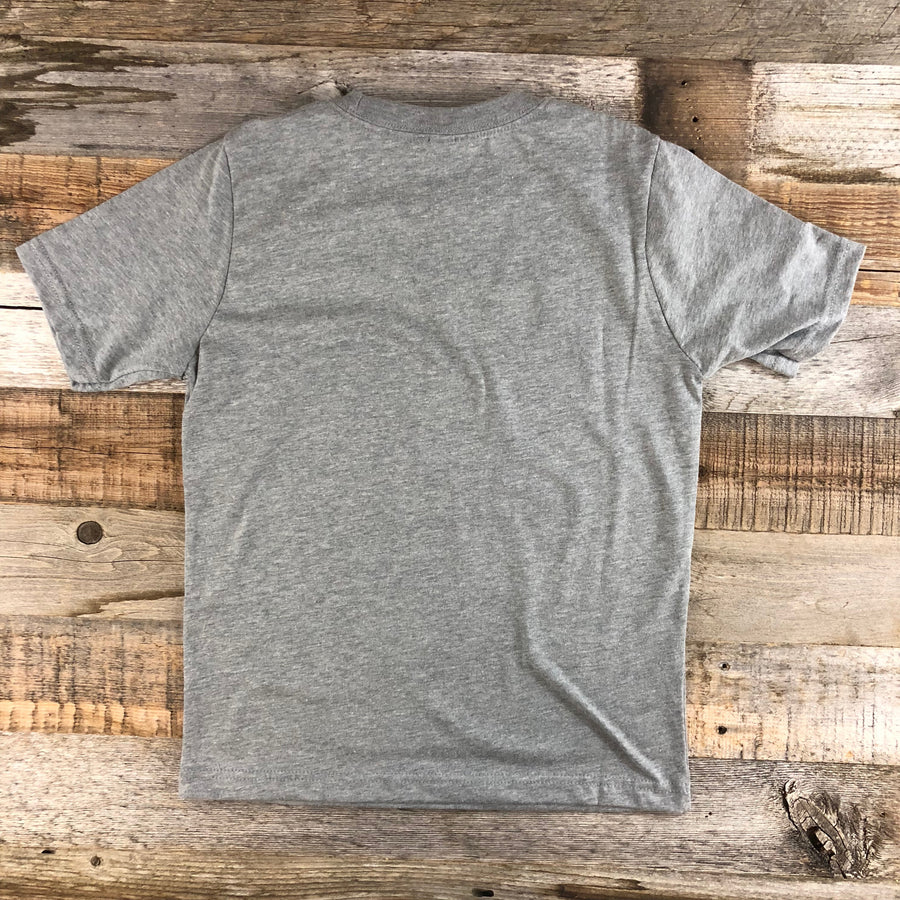 Youth YELLOWSTONE x SW COLLECTION Get Lost Tee - Heather Grey